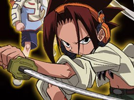 Shaman King is yet another Japanese import that is finding success in the states. © 4Kids Entertainment.