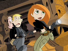 Kim Possible brings a bit of girl power to Disney's lineup. © Disney Television Animation.
