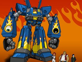 Cartoon Network execs are very optimistic about the possible success of Megas XLR. © Cartoon Network.