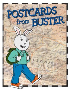PBS Kids teams up again with Arthur producer CINAR for the new live-action/animated series Postcards from Buster. © CINAR Corp.