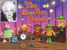 Zoo Revue creator Barbara Atlas (inset) presented the New Zoo Revue, a 3D version of the series from the 70s.