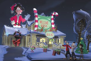 Mickey Mouse Twice Upon A Christmas Dvd.Twice Upon A Mickey Transitioning From 2d To 3d Animation