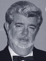George Lucas speaks at the VES 2004 awards. What is the new challenge to filmmakers? Photo by Sarah Baisley.