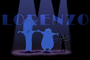 Lorenzo is a tour-de-force turn for Gabriel. He wrote, directed, designed, storyboarded and background-painted the short.