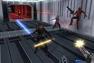 Star Wars: Knights of the Old Republic took game of the year award as well as best writing. © LucasArts.
