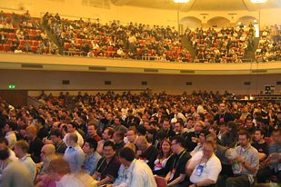 Panel discussions packed in audiences all week.