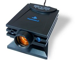 Sony EyeToy helps enhance interactivity by transporting players into the game. © Sony Computer Ent.
