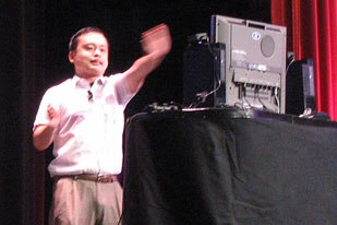 GDC even saw stars with the presence of American Idol reject turned cult singing sensation William Hung.