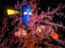 Marlin, Dory and Nemo have more awards on their reefs than Katharine Hepburn. All images © Disney/Pixar. All Rights Reserved.