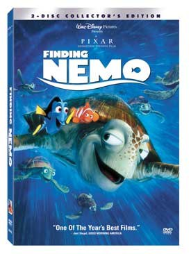 Now in its triple platinum Disney Masterpiece Treasures edition DVD box set, it is estimated that every home in the world has at least two Nemo digital downloads, DVDs or the arcane VHS.