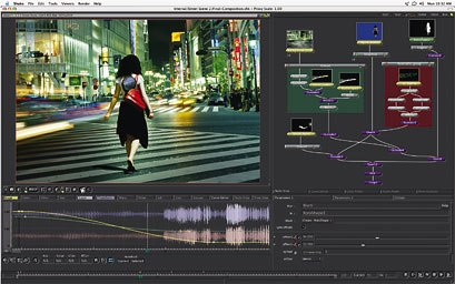 Shake 3.5 offers advancements in morphing and warping. Courtesy of Apple.
