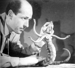 Harryhausen regarded his work on The 7th Voyage of Sinbad as an experiment. © Animation Art Gallery London.