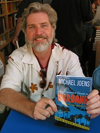 Author Michael Joens at an appearance at the Los Angeles Times Book Festival last month. Photo by Sarah Baisley.