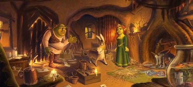 39 Shrek 2 39 A Visual Development Gallery Animation World