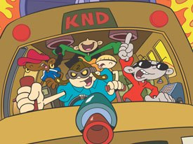 In a spin-off, the KND team could reunite to save the world as adults. Courtesy of Cartoon Network.