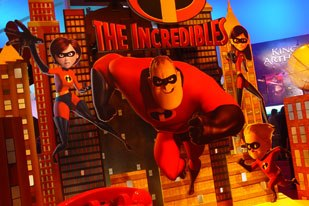 The Incredibles may be a big hit in theaters as well as in games. Photo courtesy of Deron Yamada. © DYA367.