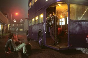 Double Negative made its Harry Potter debut with the creation of the Knight Bus.