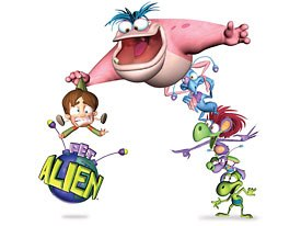 Mike Young Prods. licenses Pet Alien instead of selling the rights away. © Mike Young Prods.