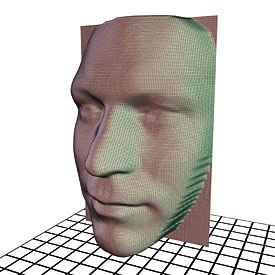 [Figure 12] A 3D scanner provides excellent 3D reference material for modeling, but the data is too dense to be used in production.