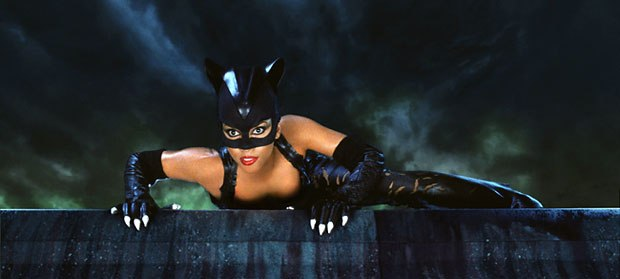 The amount of exposed skin in Catwomans skimpy costume made it hard for Jones and his vfx crew to create the CG Catwoman.