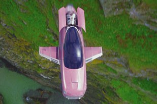Small screen fans fondly remember Lady Penelopes pink six-wheeled Rolls-Royce. The films FAB, which transforms into an aircraft and speedboat, was built practically and digitally by the art department, the Ford Co. and Framestore CFC.