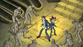 Unlike Pokémon, the Yu-Gi-Oh! theatrical feature was not made for Japan initially.