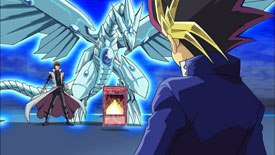 The success of Yu-Gi-Oh! was injecting the card game craze of Magic and Pokémon into the show itself.