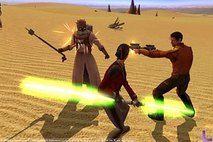 Unreal Engine 3 is being utilized on such big games as Star Wars: Knights of the Old Republic. © LucasArts Ent.