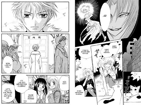 A look inside TOKYOPOP's Fruits Basket and Princess Ai titles. © TOKYOPOP Inc.
