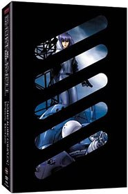 Ghost in the Shell: Stand Alone Complex continues the challenging sci-fi storyline that started with the feature film. © Bandai Ent. and Manga Ent.