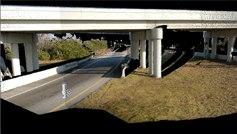 A 3D scan of the overpass. © Reigl USA.