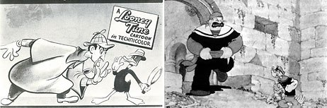 The Great Piggy Bank Robbery and Popeye Meets Sinbad are just two of the classic toons that have influenced Kricfalusi.