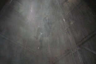 Digitally matching the elevator shaft in Marcinelle was a challenge for Videas vfx artists.