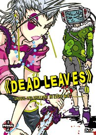 Dead Leaves offers non-stop battle sequences and violent cyborg monsters.
