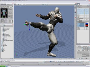 Kaydara will begin shipping Alias MotionBuilder 6.0 this month. The product will remain a stand-alone. ©2004 Systèmes Alias Québec Inc. All rights reserved.