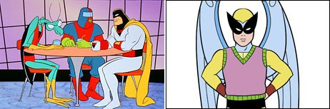 Cartoon Network is on a roll. Its Adult Swim is the go-to place for college students and lovers of irony. Space Ghost and Harvey Birdman © Cartoon Network.
