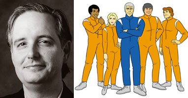 Cartoon Network's Keith Crofford was one of the architects of Adult Swim. He took old Hanna-Barbera shows and put a bizarre spin on them, as with Sealab 2021. Courtesy of Cartoon Network.