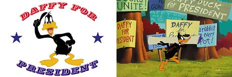 Daffy Duck for President, produced this year, appears on LTGC2.
