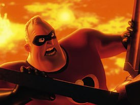 Visual effects were another new challenge that Pixar had to tackle in The Incredibles.