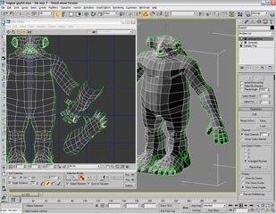 Visible UV Seams in both the UV Editor and 3D Viewport.