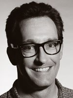 Tom Kenny enters the positive zone when he voices SpongeBob. Photo by: Mark Fellman.