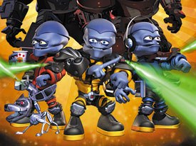Look for DragonBlade from Digital Content Development Corp. which also co-produced Butt-Ugly Martians (pictured above). © 2001 Universal Worldwide Television, Inc., Just Group Plc., Mike Young Productions, Inc., DCDC Ltd.