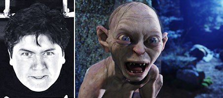 Bay Raitt was key in giving Gollum his distinctive look. © 2002 New Line Prods. All rights reserved.