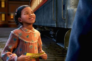 Films like The Polar Express are blurring the line between animation and visual effects. © 2004 Warner Bros. Ent. All rights reserved.