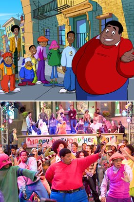 Hey, hey its a new kind of Fat Albert. © 2004 Twentieth Century Fox. All rights reserved.