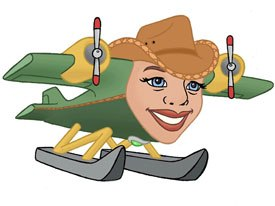 The character of Montana was added to the cast of Jay Jay the Jet Plane based on the results of an online poll. Courtesy of PBS Kids.