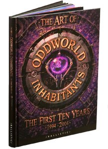 The Art of Oddworld Inhabitants: The First Ten Years 1994-2004 edited by Cathy Johnson and Daniel Wade.