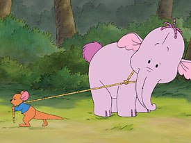 In meeting a young, playful Heffalump named Lumpy, Roo soon learns an important lesson; Heffalumps are nothing like what hes been told.