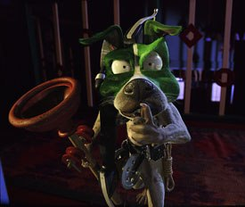 Tippet Studios vfx Thomas Schelesny was in charge of designing the dog, which was hand-animated. © 2005 Tippet Studios/New Line Prods.