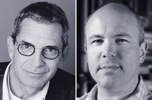 Overall visual effects supervisor Mike Fink and Tippett Studio co-founder and visual effects supervisor Craig Hayes.